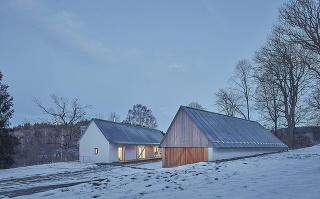 Dom so stodolou na Vysočine
