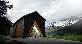 Drevostavba v Nórsku