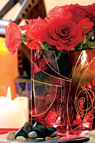 Maľovaná váza