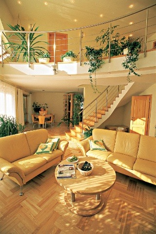 Obývací priestor – voľná