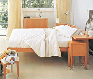 Spálňa - priestor na