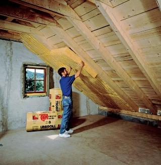 Konštrukcia šikmej zateplenej strechy