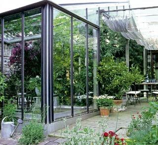 Záhrada za sklom alebo