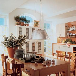 Zelená kuchyňa