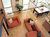Obývacia časť pri pohľade