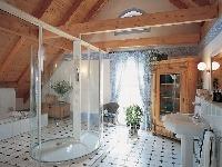 Táto kúpeľňa na prvý