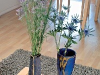 Dekoratívne keramické vázy z