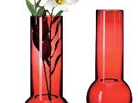 Sklenená váza Klave, dizajn