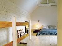 Spálňa v priestore pod