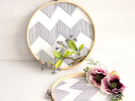 bambusový rám na handmade