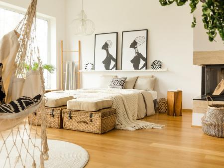 Prírodné materiály do interiéru