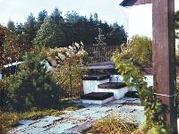 Spevnenú plochu na terase,