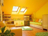 Romantická dievčenská izba s