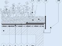 Detail ukončenia atiky prefabrikovaným