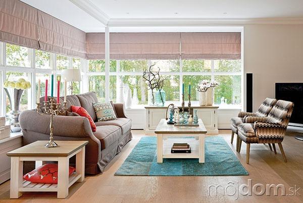 6ff6ab24f9de2 Dodajte obývačke šmrnc! Správny výber farieb na steny dokáže divy ...