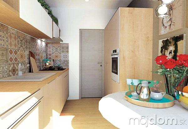 dfd02fb4a4ed Miniatúrna paneláková kuchyňa  Ako ju vkusne a prakticky zariadiť ...
