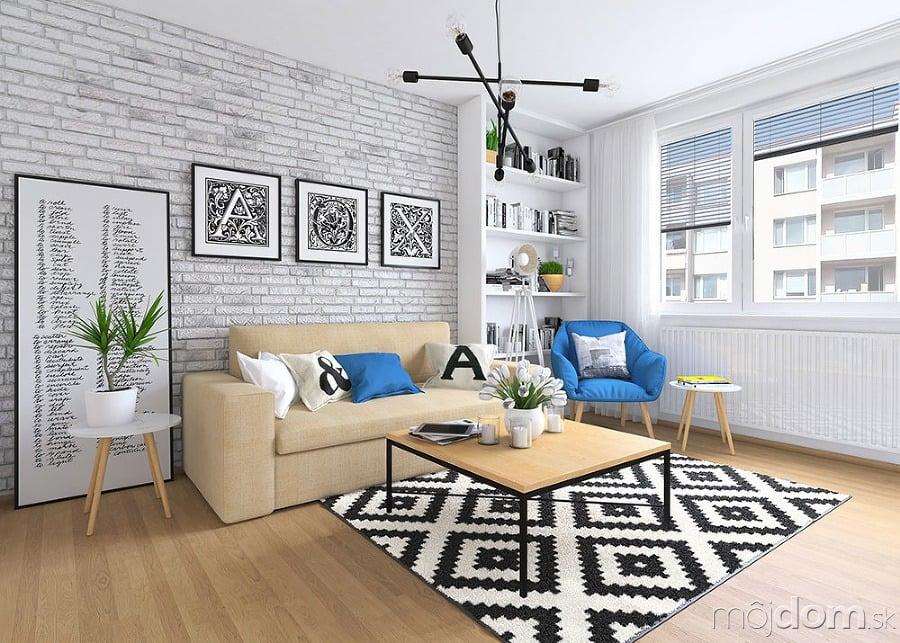 Ako vtesnať do panelákovej obývačky jedáleň aj pracovňu  0b4a47b172f