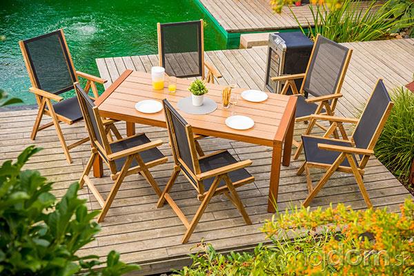 e7f036f2203b Záhradný nábytok pre jarné posedenie na záhradách a terasách – galéria