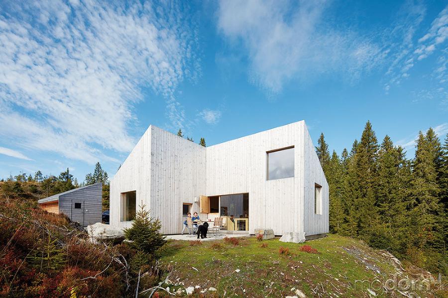 Komfortná drevostavba s funkčným interiérom popiera lokálne tradície ... 71e76deb2ff