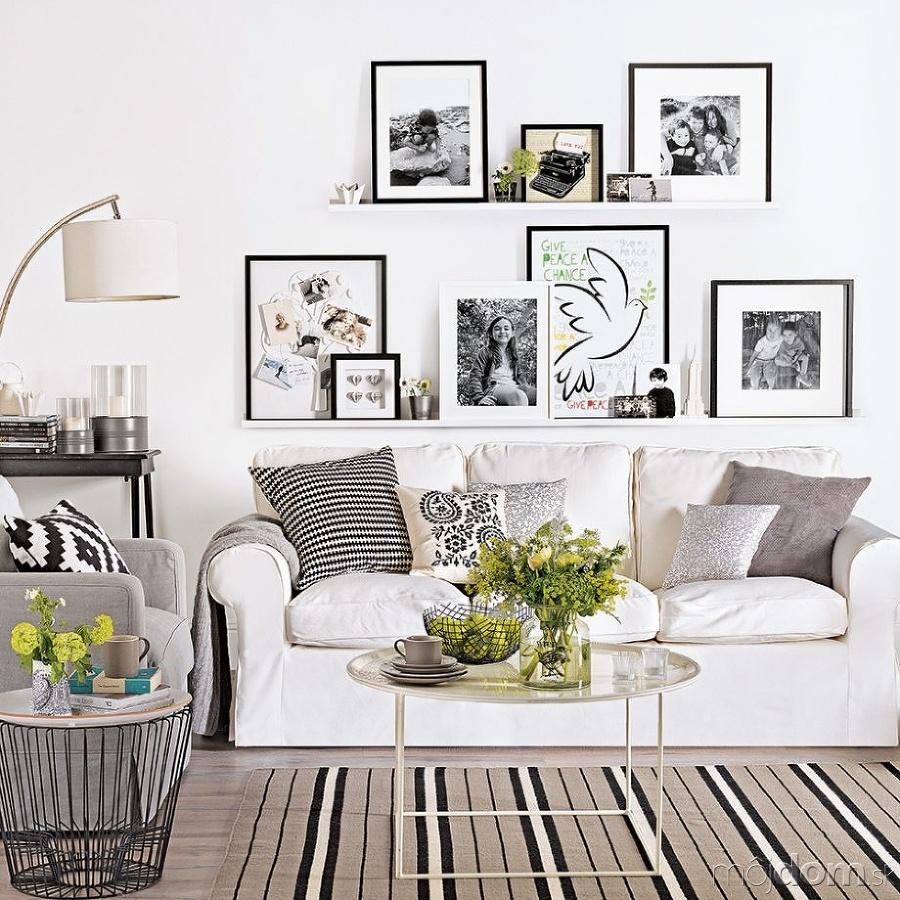 Wonderful White Living Room Interior Ideas: Inšpirácie Pre Obývacie Izby