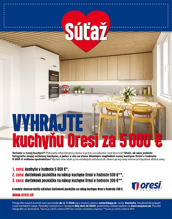 """517d21ad5fbd Štatút súťaže """"Vyhrajte kuchyňu Oresi za 5 000 €"""""""