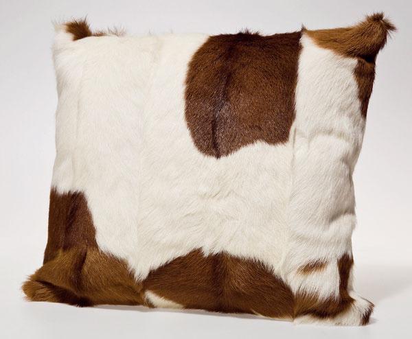 Dekoračné kožušinové vankúše Goat