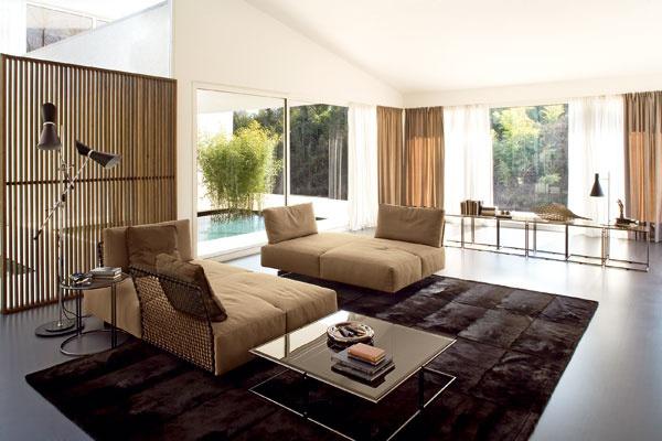 Základom obývacej izby je