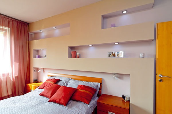 Zmena pomocou farieb a dizajn rskych trikov gal ria for Pareti attrezzate per camere da letto