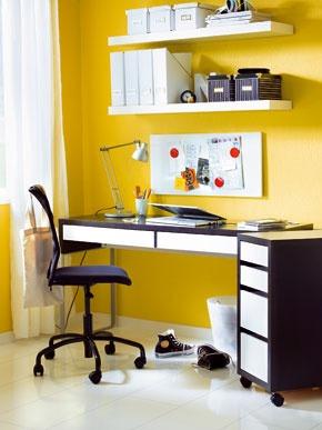 Ideálne umiestnený pracovný stôl
