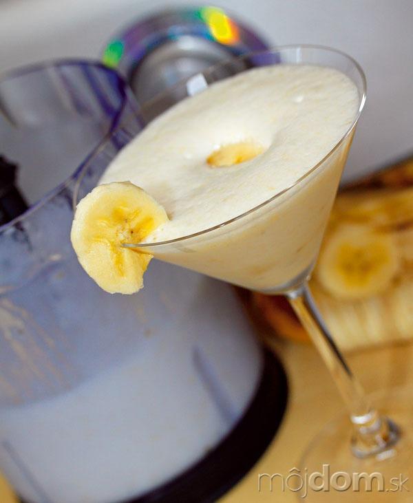 Banánový kokteil  Čo budete potrebovať •2
