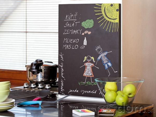 Vyrobte si domácu tabuľu