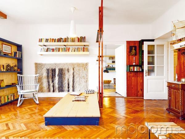 685ad5263f00c Pôsobivo zrekonštruovaný byt v bratislavskom Legiodome | Mojdom.sk