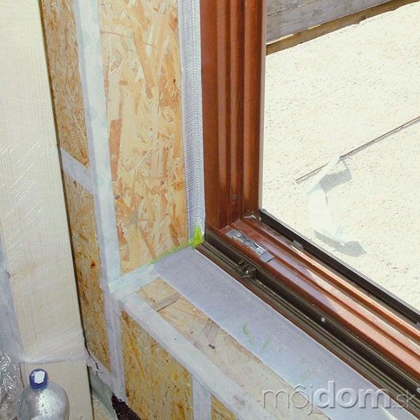 Okno Makrowin vnízkoenergetickom dome