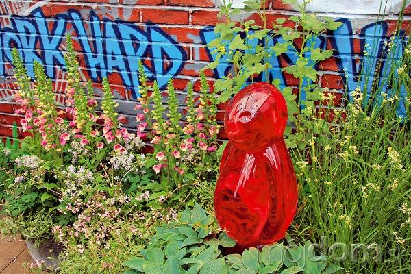 Povýšené grafity Uletenejší záhradní dizajnéri