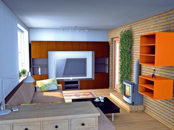 Ako získať maximum spojením obývačky a kuchyne   7346a4f34ab