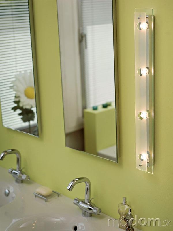 Halogénové osvetlenie zrkadla v
