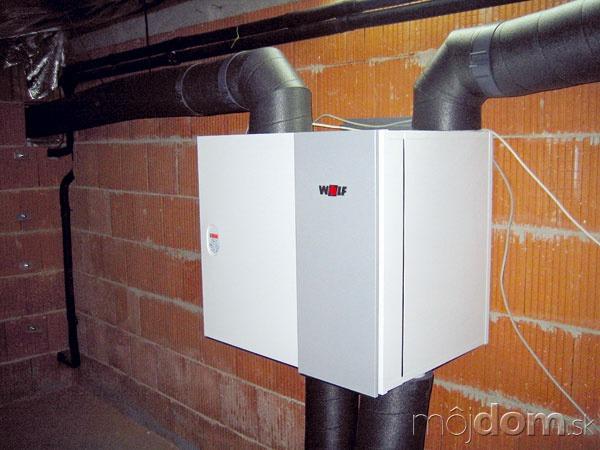 Vpasívnych alepších nízkoenergetických domoch