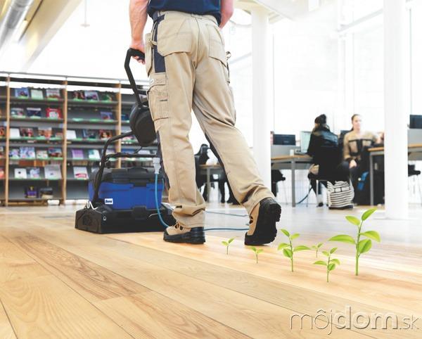 Hĺbkové čistenie znečistených podláh