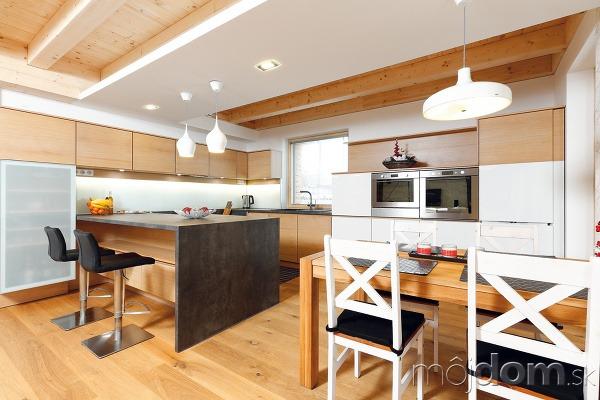 Moderný elegantný interiér ladí