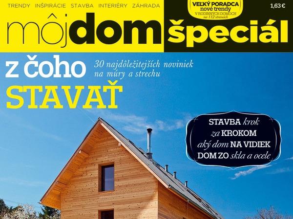 Časopis Môj dom špeciál/2013