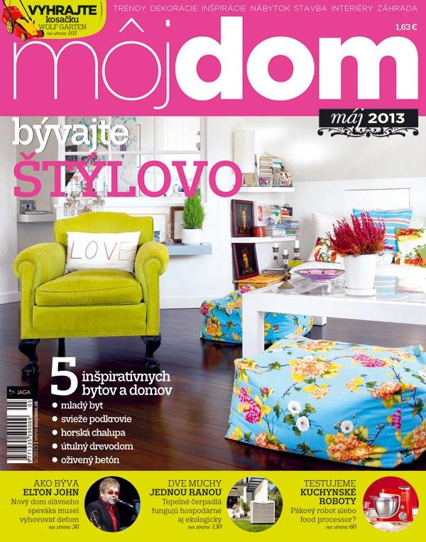 Časopis Môj dom máj