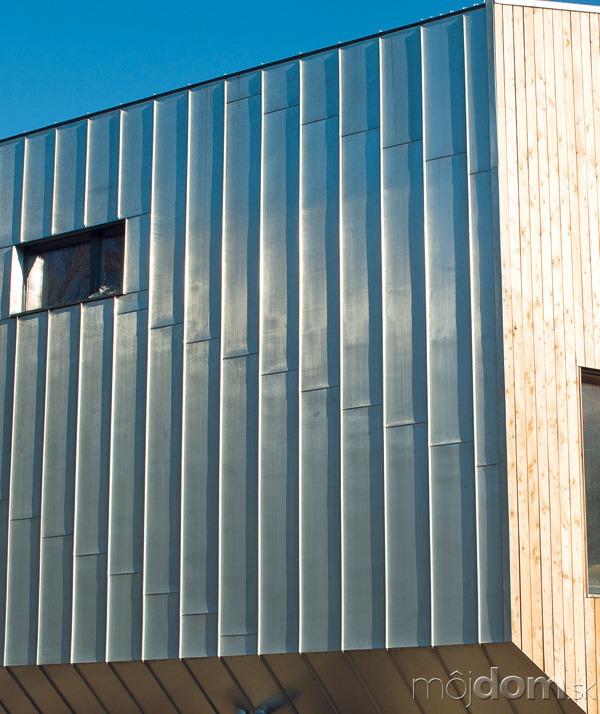 Na opláštenie azastrešenie stavby