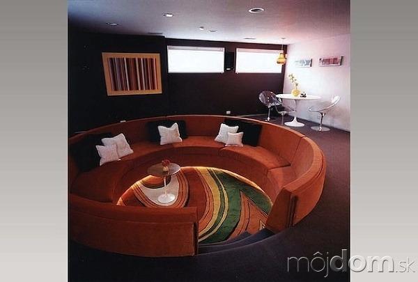 Jedinečné obývacie izby