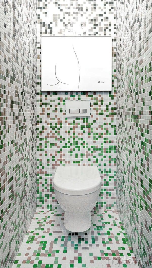 WC ukryté za pôvodnými