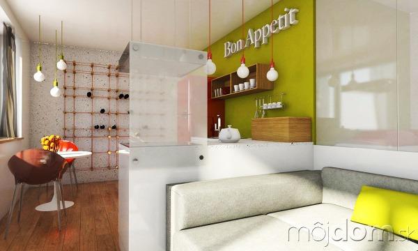 Návrh jednoizbového bytu