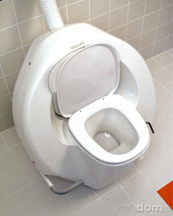 Rotačná separačná kompostovacia toaleta