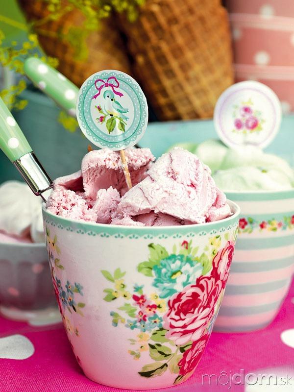 Tip na podávanie zmrzliny: