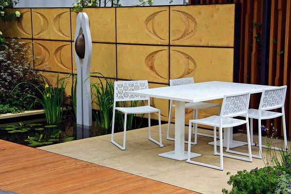 Reprezentatívna mestská záhrada s