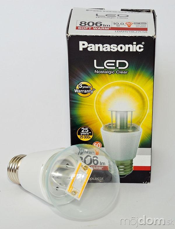 Panasonic LED Nostalgic Clear