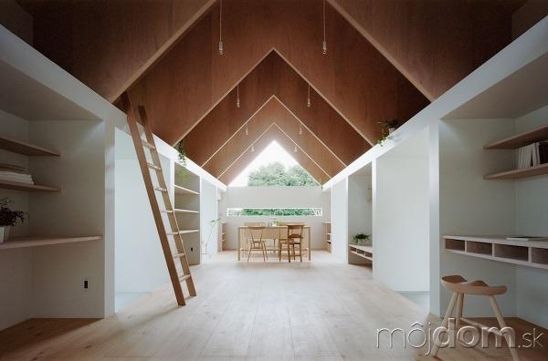"""f9911ecf9 Rodinný dom """"po japonsky"""" čaruje s denným svetlom v interiéri ..."""